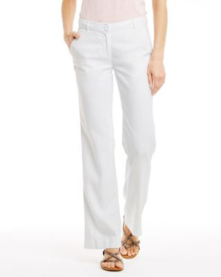 Modern Linen Trousers by Garnet Hill