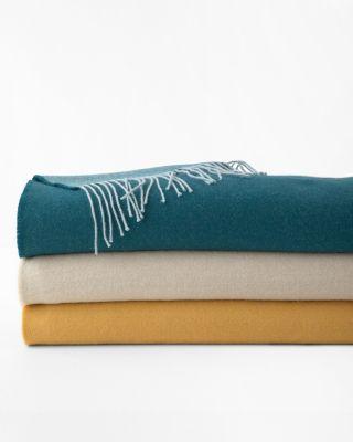 Eileen Fisher Baby Alpaca Blanket and Throw
