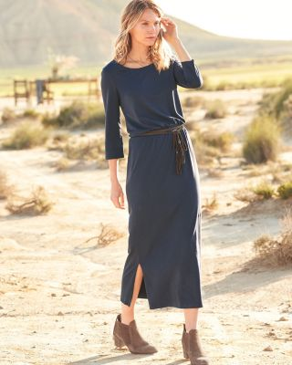 Easy Knit Midi Dress by Garnet Hill