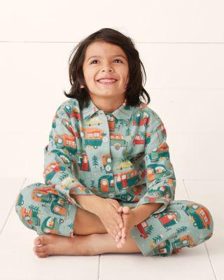 Kids' Flannel Pajama Top