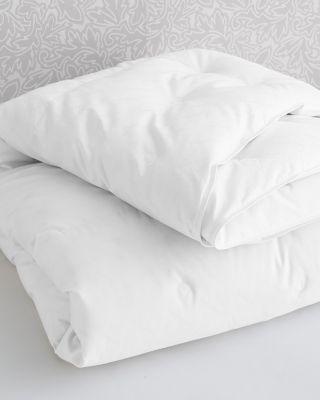 Garnet Hill Signature Channeled White Goose Down Comforter