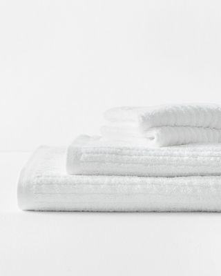 Eileen Fisher Cotton Linen Ribbed 600-Gram Bath Towels