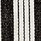 Black Birmingham Stripe