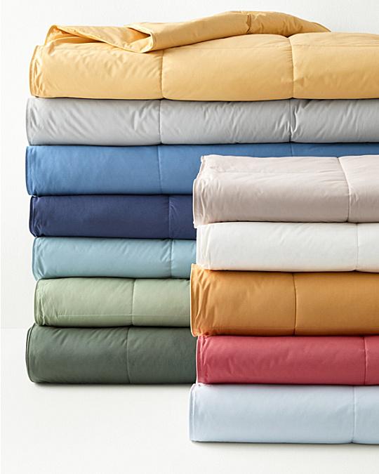garnet hill essential down blanket and throw