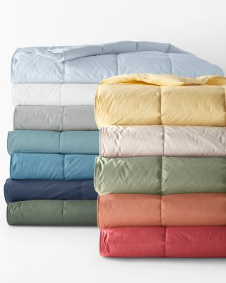 Garnet Hill Essential Down or Core-Loft® Comforters