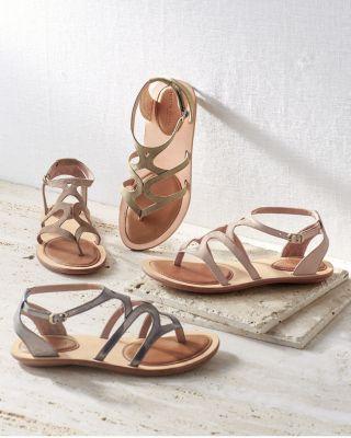 Gentle Souls Gladiator Sandals
