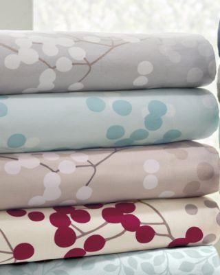 Bittersweet Supima® Flannel Bedding