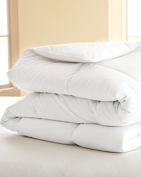 garnet hill signature white down comforter