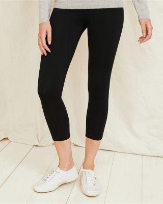 Green Cotton® Capri Knit Leggings