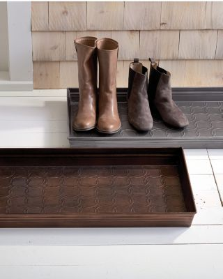 Garnet Hill Copper Boot Tray