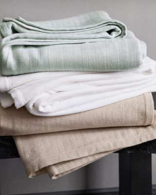 Eileen Fisher Organic Cotton Blanket and Throw