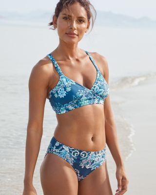 Garnet Hill Signature Double-Strap Bikini Top