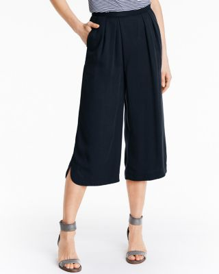 Tencel® Cropped Pants