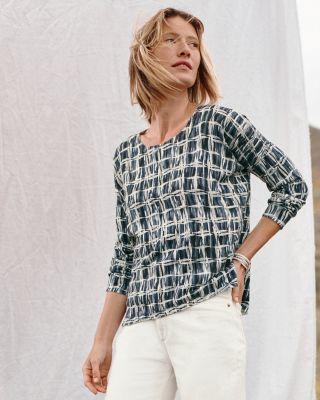 Silk & Cotton Oversized Sweater