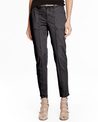 Slim Utility Ankle Pants
