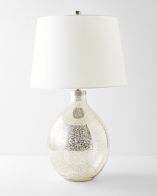 mercury glass table lamp - Mercury Glass Lamps