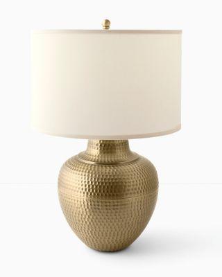 Maison Hammered Lamp