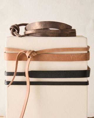 ADA Skinny Wrap Belt