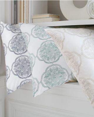 Signature Wrinkle-Resistant Eloise Sateen Duvet Cover