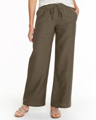 Easy Wide-Leg Pants