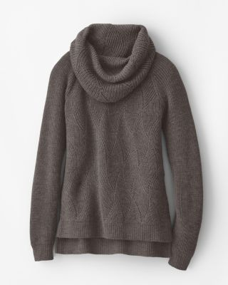 Shirttail Cashmere Sweater Garnet Hill