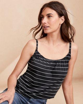 Organic Pima Cotton & Tencel® Layering Camisole