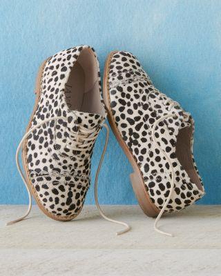 Jax & Bard Scalloped Oxford Shoes