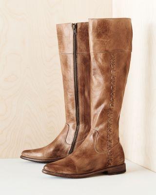 BEDSTU Carrion Whipstitch Tall Boots