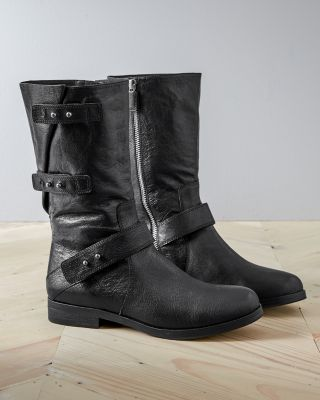 Eileen Fisher Motor Boots