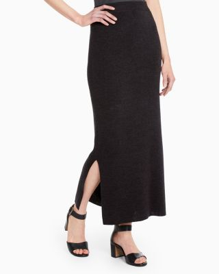 Eco Merino Knit Maxi Skirt