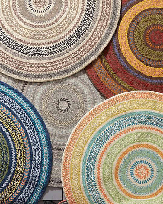 Fair Isle Hooked Wool Rug | Garnet Hill