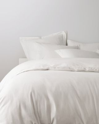 Garnet Hill Signature Flannel Duvet Cover