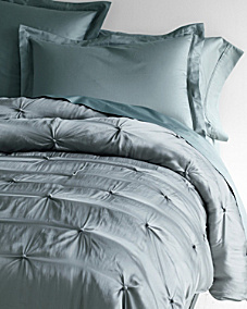 Eileen Fisher Seasonless Silk Comforter and Throw