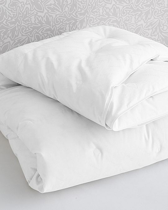 garnet hill signature channeled white goose down comforter