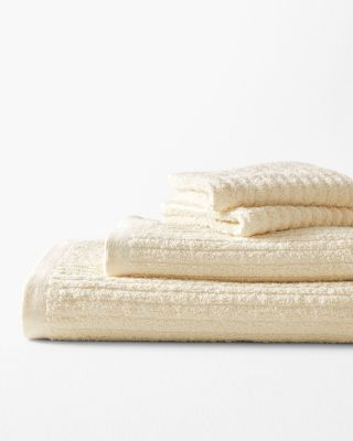 EILEEN FISHER Cotton & Linen Ribbed Towels