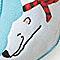 Polar Bear with Scarf