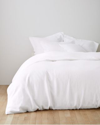 Eileen Fisher Washed Linen Duvet Cover