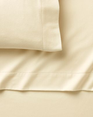 Hemstitched Supima® Flannel Bedding