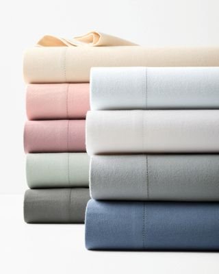 Hemstitched Supima Cotton Flannel Sheets