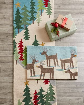 Hable Holiday Hooked Wool Rug