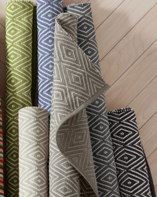 Diamond Indoor-Outdoor Woven Rug by Dash & Albert