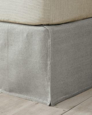 EILEEN FISHER Farmhouse Linen Bedskirt