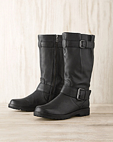 Gentle Souls Buckled-Up Boots