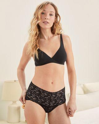Hanky Panky Retro Lace High-Waisted V-Kini Panty