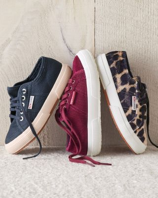 Superga Classic Canvas Sneakers for Girls