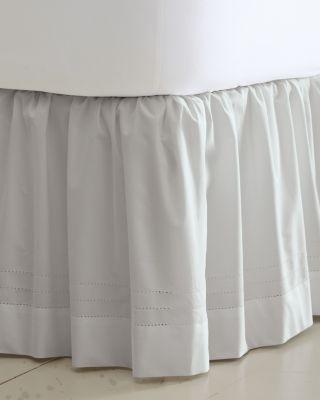 Supima Cotton Hemstitched Bedskirt