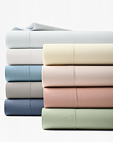 Hemstitched Supima® Percale Cases