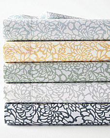 Mums Hemstitched Supima® Percale Cases