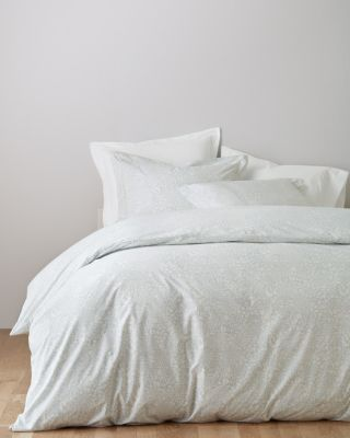 Garnet Hill Mums Hemstitched Supima Percale Duvet Cover