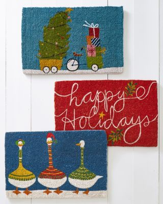 Hable Holiday Doormat